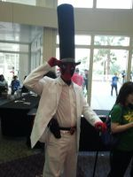 Megacon 2014: Deadpool Cosplay (like a Sir) by Oblivion-Evil