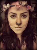 My Fawn Makeup by magentaluv