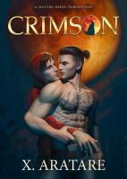 commissions: Crimson front cover by MathiaArkoniel