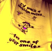 message in a tshirt by ATMOWDIMS