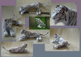 Zoo Tycoon Paper Collection - Bengal Tiger by DrWheelieMobile