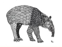 Tapir by Hafique84