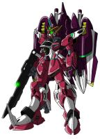 GMF-X03A/C Celestial Justice Gundam MS by unoservix