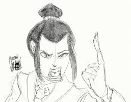 Azula is not amused by TheArtrix