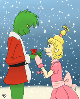 Grinch x-mas 2011 by GoreFeathers