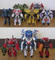 Transformers Prime Autobots by BoggeyDan