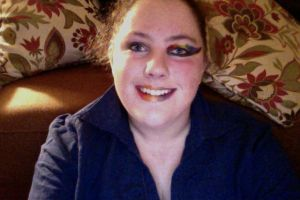 Halloween Rainbow Makeup FAIL by BlackTshirtFan