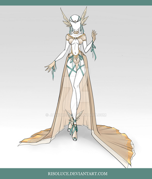 (CLOSED) Adoptable Outfit Auction 73 by JawitReen