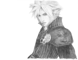 Cloud Strife by The-Gotheltic-Rowan