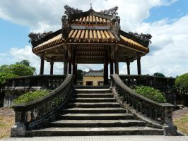 Pagoda by IdunaHaya-Stock