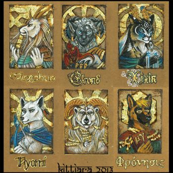 Badges 2013 - 3 by kittiara