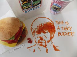 Big Kahuna Burger 'Mmm...This is a tasty burger!' by NadienSka