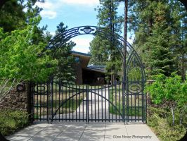 Entrance to Lowell Observatory by GlassHouse-1