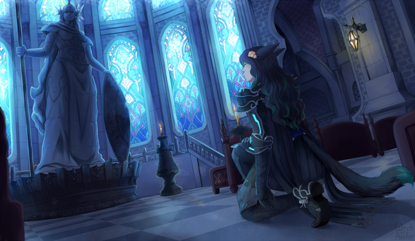 Commission - Unbeliever by Myra-Avalon