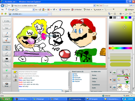 ISCRIBBLE by TheMarioManiac