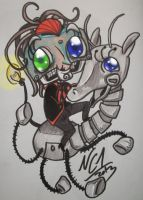 Rabbit and GG CHIBIS!! by NobodyCares-1