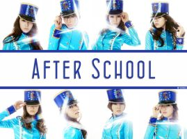 After School wallpaper by NouNou01