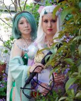 Rosa and Rydia FF4 by CelestialShadow19