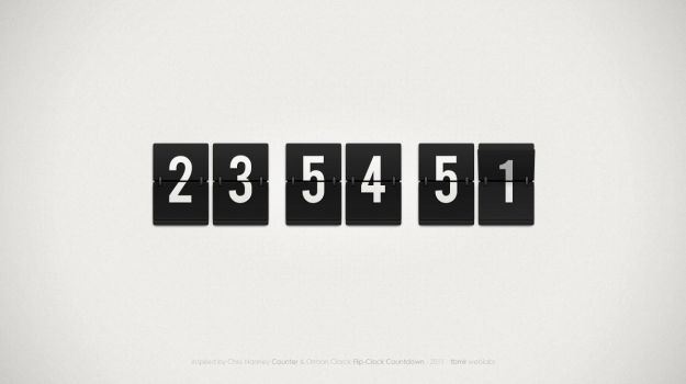 FlipClock by CubeConcept