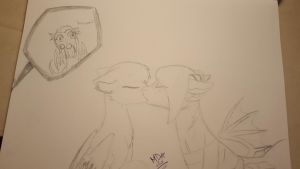 AND NOW....KISS! :3 by MadDiscordia410