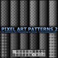 Pixel Art Patterns 2 by AscendedArts