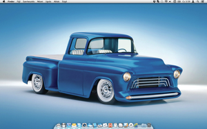 My Mac desktop by TigerCat-hu
