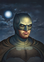 Batman (Batfleck) by adam-brown