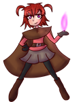 Fictional Witch in a Fictional World by LyricaLupin
