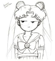 Usagi cheeky face by Fighter4luv