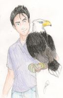 Jake and the eagle Stroke by juliajm15
