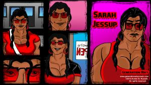 Sarah Jessup Wallpaper by fmvra1s