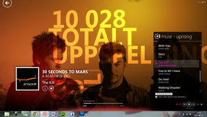 10028 plays of 30 Seconds To Mars by ProjektGoteborg