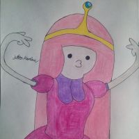 Princess Bubblegum from Adventure Time by yahoo201027