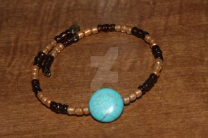 to go with earth tone necklace by RG-Studios