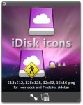 iDisk icons for MobileMe by RaatsGui