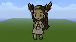 Pokemon G/S/C Jasmine Minecraft Sprite by HaloFreak001