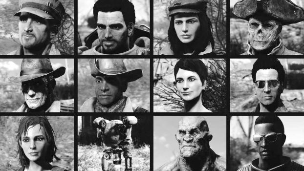 My Fallout 4 Companions by TheSteam21