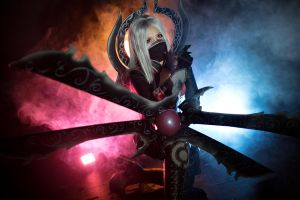 League of Legends - Irelia by AmaranthPhotos