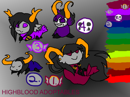 Highblood Adoptables (CLOSED) by PigeonCage
