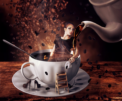 I love coffee like... by Lhianne