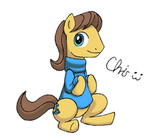 Caramel with a sweater by CrispyChris