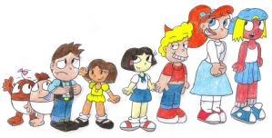 The Other Histeria Kids By SomePkmn LovingDude