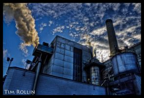 Plumes of Industry - HDR by ElenionTolto