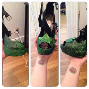 Poison Ivy Revamp Shoes 2 by PcCosplays