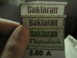 Baclaran Ticket by JDwhack