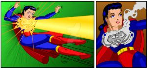 Superwomanx5 by Rogelioroman by THE-Darcsyde