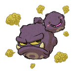 Weezing WWS by the19thGinny