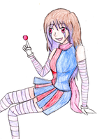 Clown Girl - Request by tintedslightly