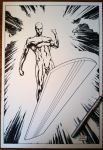 Silver Surfer commission by FlowComa