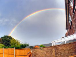 Rainbow take 2 HDR by BrokenArt-UK